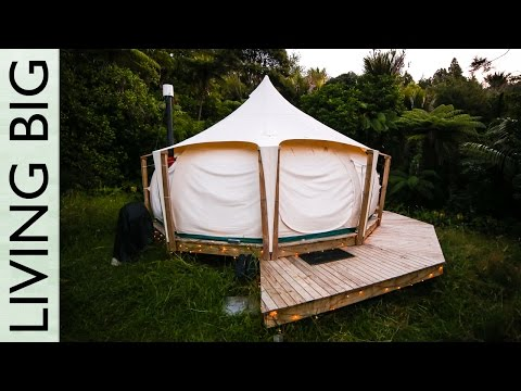 Escaping the Rent Trap - Simple Living In A Lotus Belle Tent