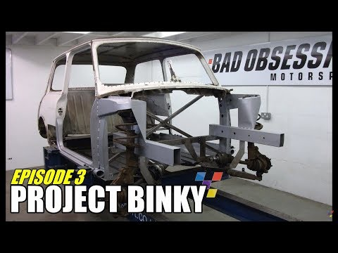 Project Binky - Episode 3 - Austin Mini GT-Four - Turbo Charged 4WD Mini