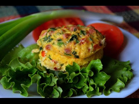 Microwave Egg Muffin - Healthy Diet