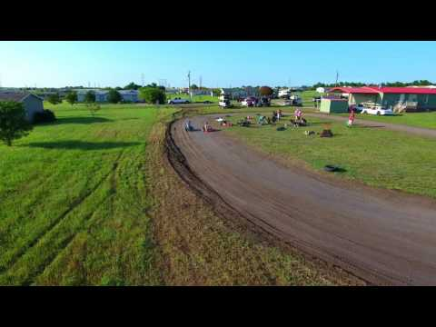North Texas Dirt Track Go-Kart Series Warm Ups
