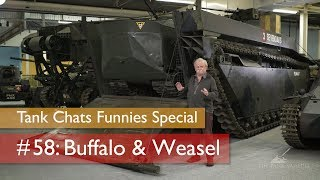 Tank Chats #58 Buffalo & Weasel | The Funnies | The Tank Museum