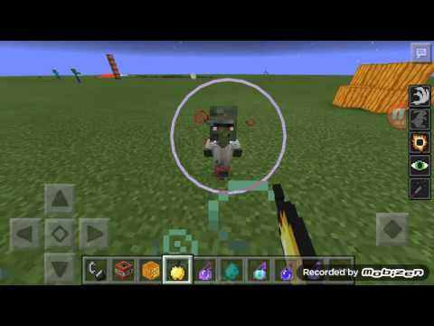 How to cure zombie villagers( Minecart pe)