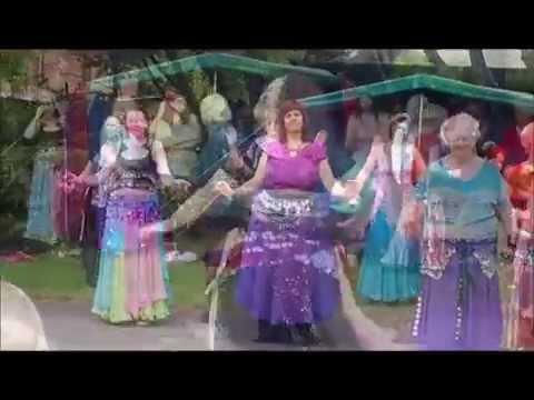 Belly dance Ashton Park 2014 Snippets