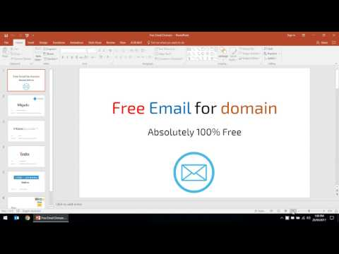 Free domain email hosting