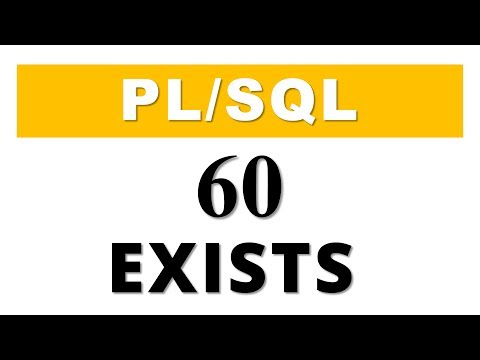 PL/SQL tutorial 60: Collection Method EXISTS in Oracle Database by Manish Sharma