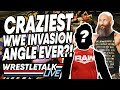 CRAZIEST WWE Invasion Angle Ever WWE NXT Nov 20 2019 Review WrestleTalk Live