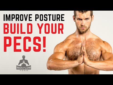 How to Build Chest Muscle with Yoga!