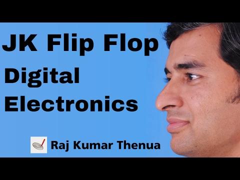 JK Flip flop in Hindi | Digital Electronics by Raj Kumar Thenua | Hindi / Urdu