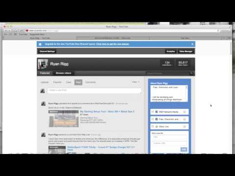Adding a Xbox Live Gamertag Link to Your YouTube Channel - How To -