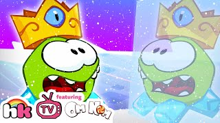 Om Nom Stories: Ice Cave | Cartoons for Children | Funny Cartoons | HooplaKidz TV