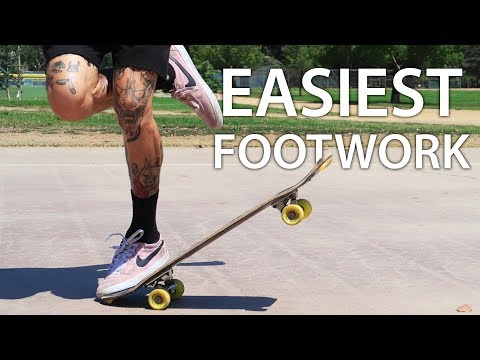 THE 3 EASIEST FREESTYLE FOOTWORK TRICKS