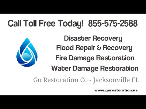 Water Damage Restoration, Water Removal From Flooded House, Mold Cleanup In Jacksonville FL