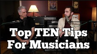 Download Top TEN Things I Wish I Knew BEFORE Becoming A Musician Video