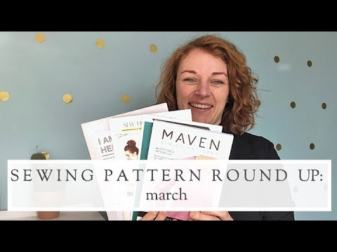 New Sewing Pattern Releases || March 2018 || The Fold Line