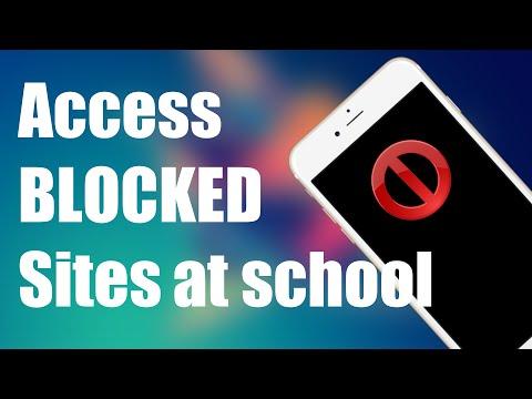 Access BLOCKED Websites on School Wi-Fi | iPhone, iPad iOS 8.4.1
