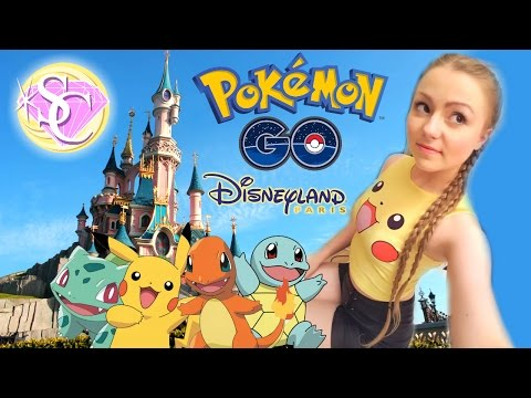 POKEMON GO AT DISNEYLAND PARIS! Egg hatching & Spawn Locations!