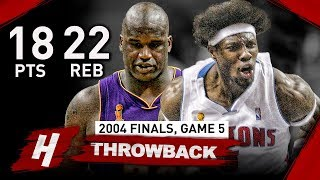 The Game Ben Wallace DESTOYED Shaquille O
