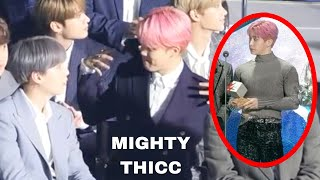 BTS Jimin And Jin Reaction To Monsta X Wonho And Shownu 190424 TMA The Fact Music Awards 2019