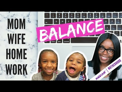 HOW TO BALANCE IT ALL | WORKING MOM TIPS