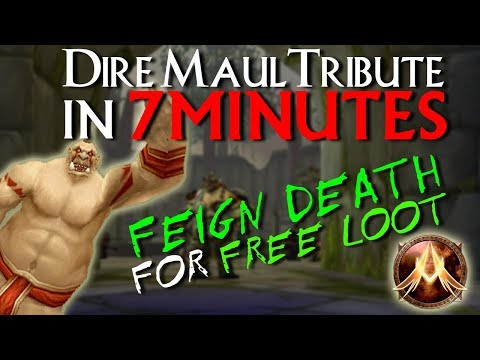 WoW Ascension | How To Complete The Dire Maul Tribute Run in 7 Minutes