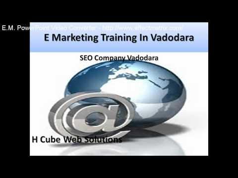 E Marketing Training In Vadodara