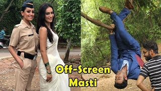 Full Offscreen Masti of Naagin 3 Actors | Surbhi Jyoti | Pearl V Puri | Anita Hassanandani