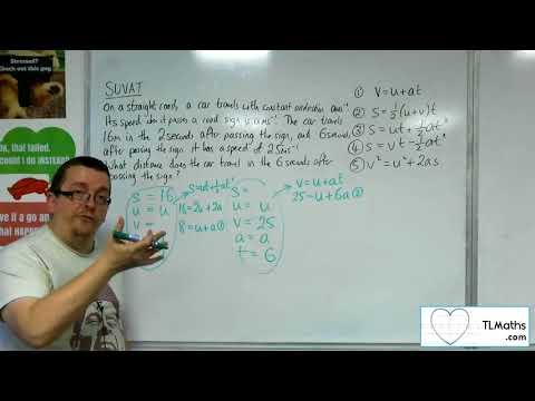 A-Level Maths 2017 Q3-11 [SUVAT: More Complicated Problem 4]