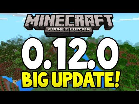 Minecraft Pocket Edition - 0.12.0 Update! - BIGGEST Update Ever! - Potions, Ocelots, Nether + More!
