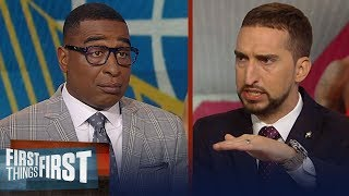 Can the Warriors force a GM 7 against the Raptors? Nick and Cris discuss   NBA   FIRST THINGS FIRST