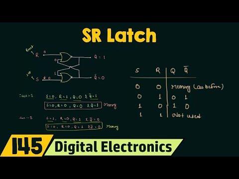 SR Latch | NOR and NAND SR Latch