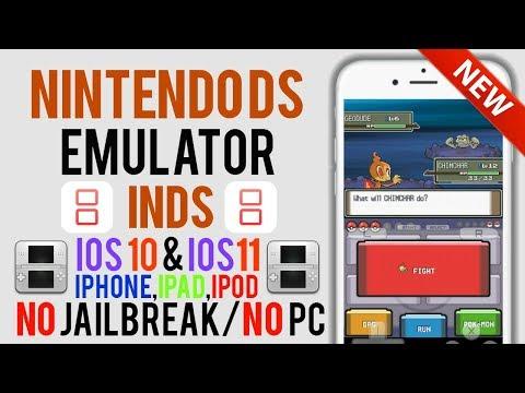 Nintendo DS Emulator iNDS BACK On iOS 11/10/9! NO Jailbreak/NO PC