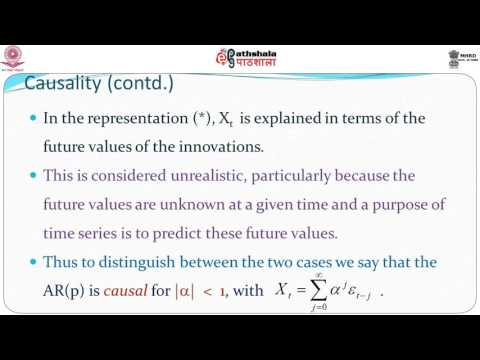 Causality Invertibility and the MA and AR processes