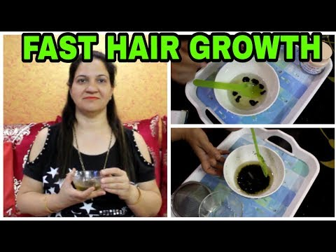 HOMEMADE HERBAL  HAIR OIL FOR FASTER  HAIR GROWTH | STOP HAIRFALL