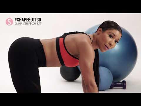 Week 1: 30-Day Butt Challenge | SHAPE
