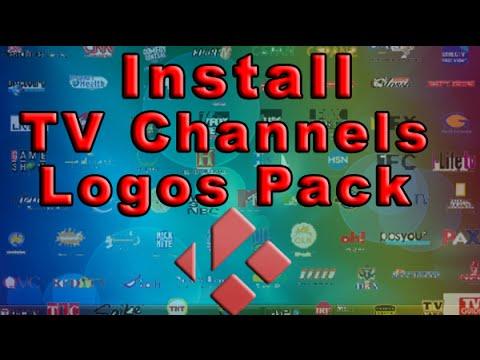Install IPTV Channel Logos (KODI)