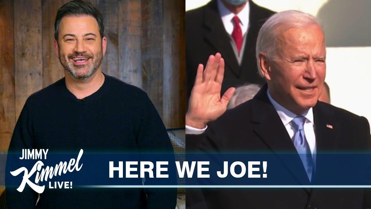 Joe Biden is Finally President & We Feel Great Again