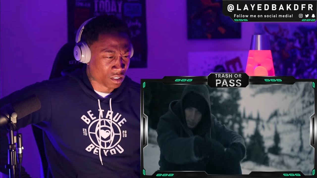 TRASH or PASS! NF ft Hopsin ( Lost ) [REACTION!!!]