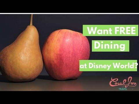 NEW Walt DISNEY World FREE Dining Released 2018