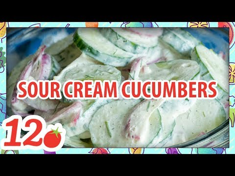 How to make: Sour Cream Cucumbers Recipe