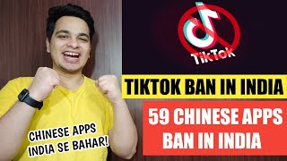 TikTok BAN In INDIA | 59 CHINESE APPS BANNED IN INDIA | Chinese Apps Banned In India 🔥🔥