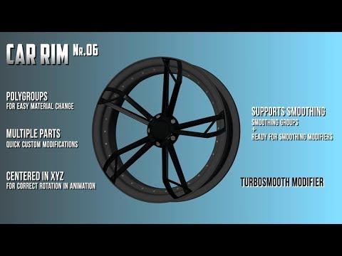 3D model: CarRim (v.06) for purchase