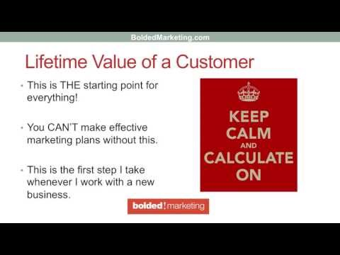 The EASIEST Way to Calculate the Lifetime Value of Your Customers