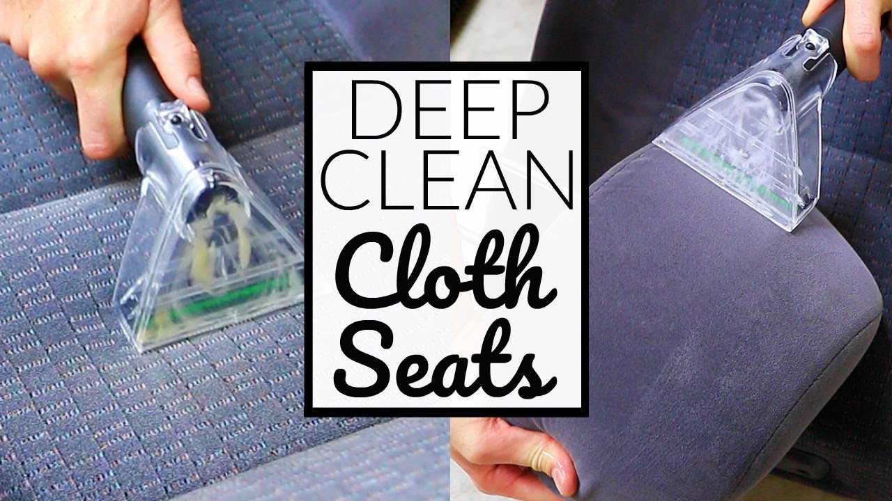 How To CLEAN NASTY Car Seats The Right Way