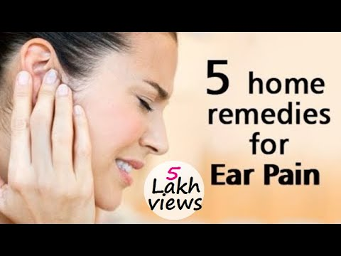 Get an Instant and Quick Relief from Your Ear Pain - Home Remedies for Ear Pain
