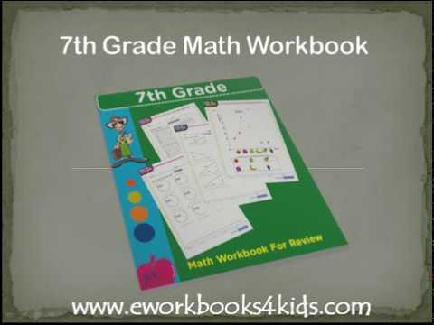 7th Grade Math Workbook download link | Pdf worksheets for kids