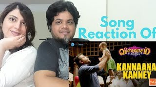 Viswasamsongs Kannaana Kanney Song With Lyrics Reaction Foreigner Vs North Indian Reaction