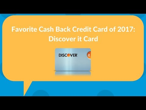 Is Discover It the best cashback credit card of 2017?