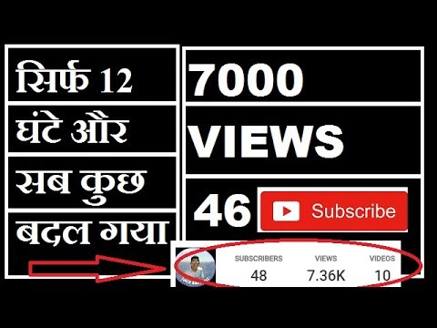 how to increase youtube views in hindi