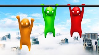 LET GO = FALL 5 MILES! (Gang Beasts)