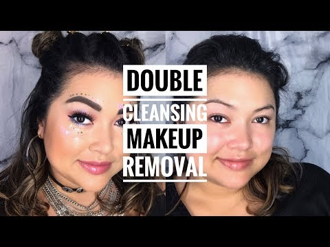 Double Cleansing Makeup Removal || The Savvy Beauty